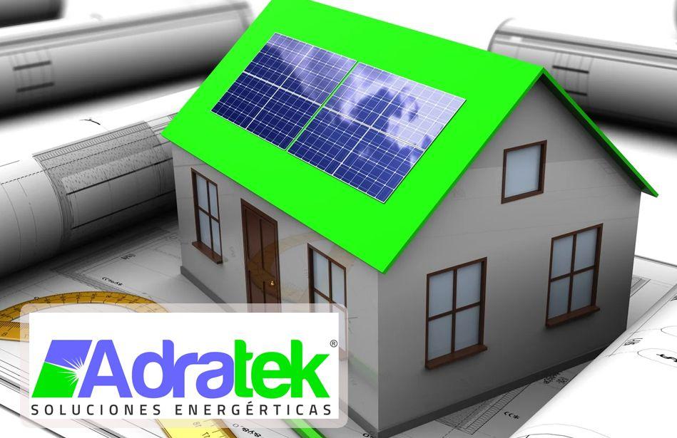 Foto de Ahorrar energía con las placas solares, por ADRATEK