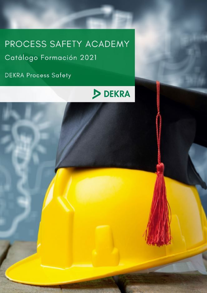 Foto de Catálogo de formación 2021 Seguridad de procesos
