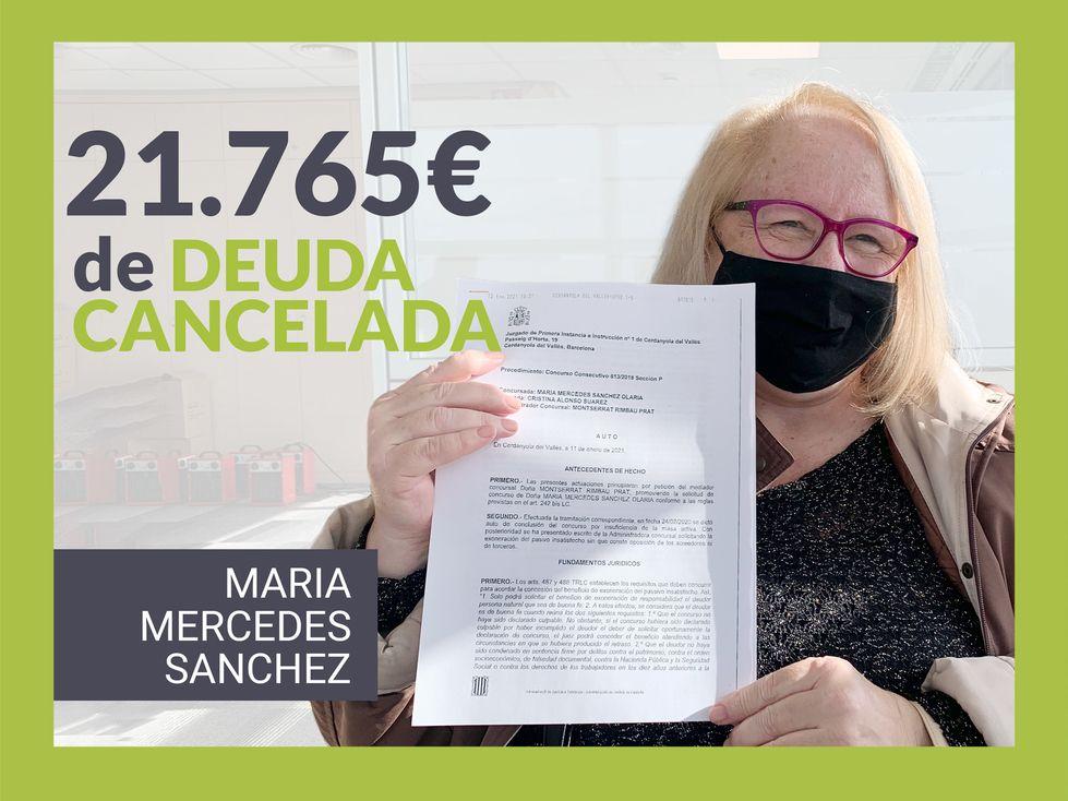 Foto de Maria Mercedes Sanchez, clienta de Repara tu deuda abogados.