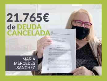 Maria Mercedes Sanchez, clienta de Repara tu deuda abogados.