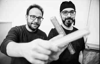 Los fundadores de Xaudable, Jaime Sanz Barrios y Gonzalo Osés