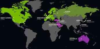 GeForce NOW llega a Australia, Turquía y Arabia Saudí