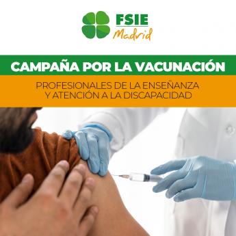 Foto de Campaña_por_la_vacunación_FSIE_Madrid