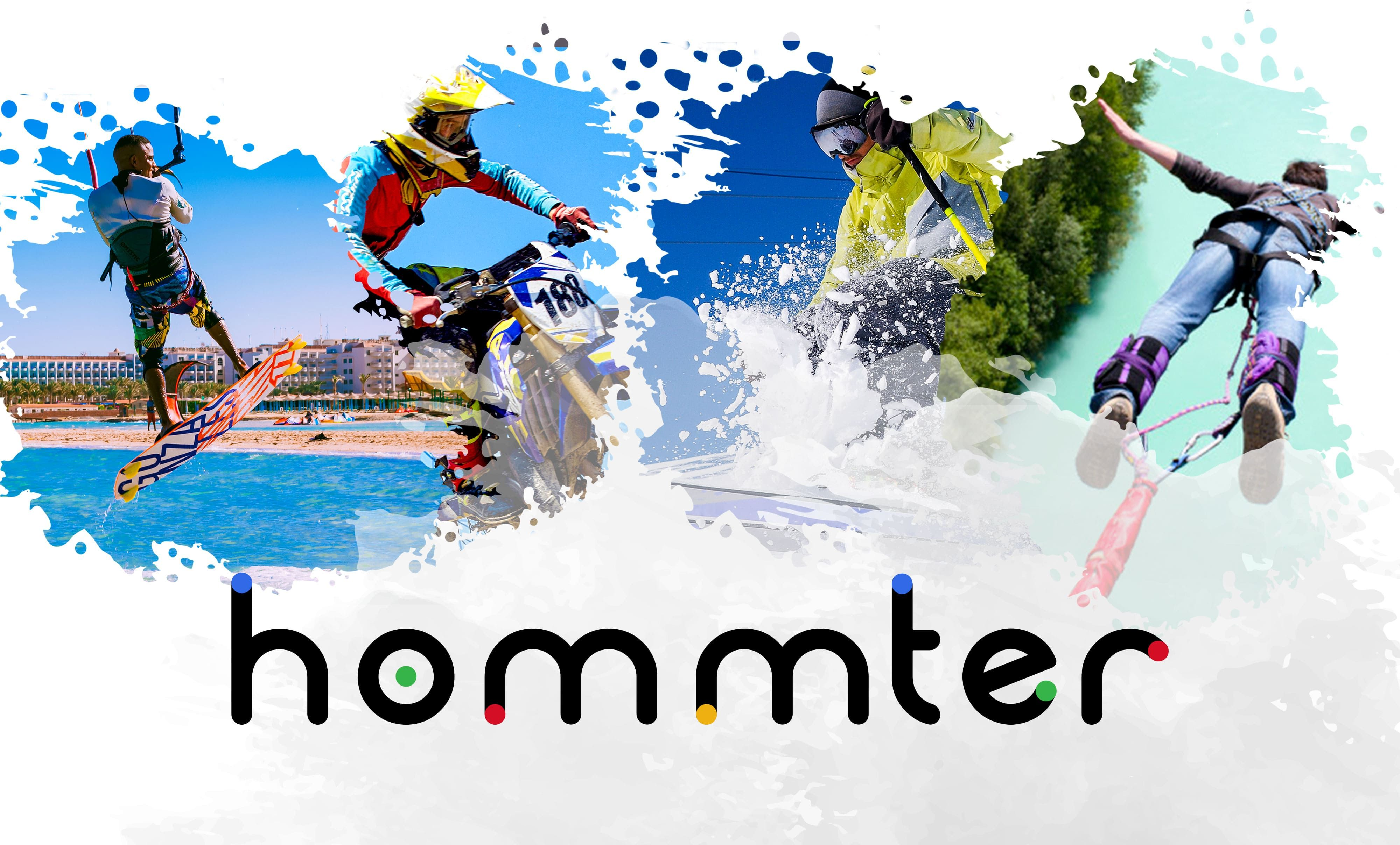 Fotografia Hommter, el marketplace de deportes de aventura, comienza