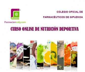 Imagen del curso organizado por el Colegio Oficial de Farmacéuticos de Gipuzkoa.