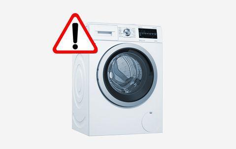 Aviso de seguridad en determinadas lavadoras de Bosch, Siemens, Neff y Balay fabricadas en 2019