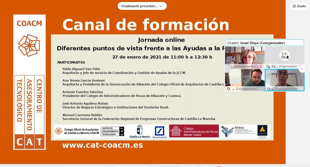 Foto de El COACM celebró una jornada formativa sobre la gestión de