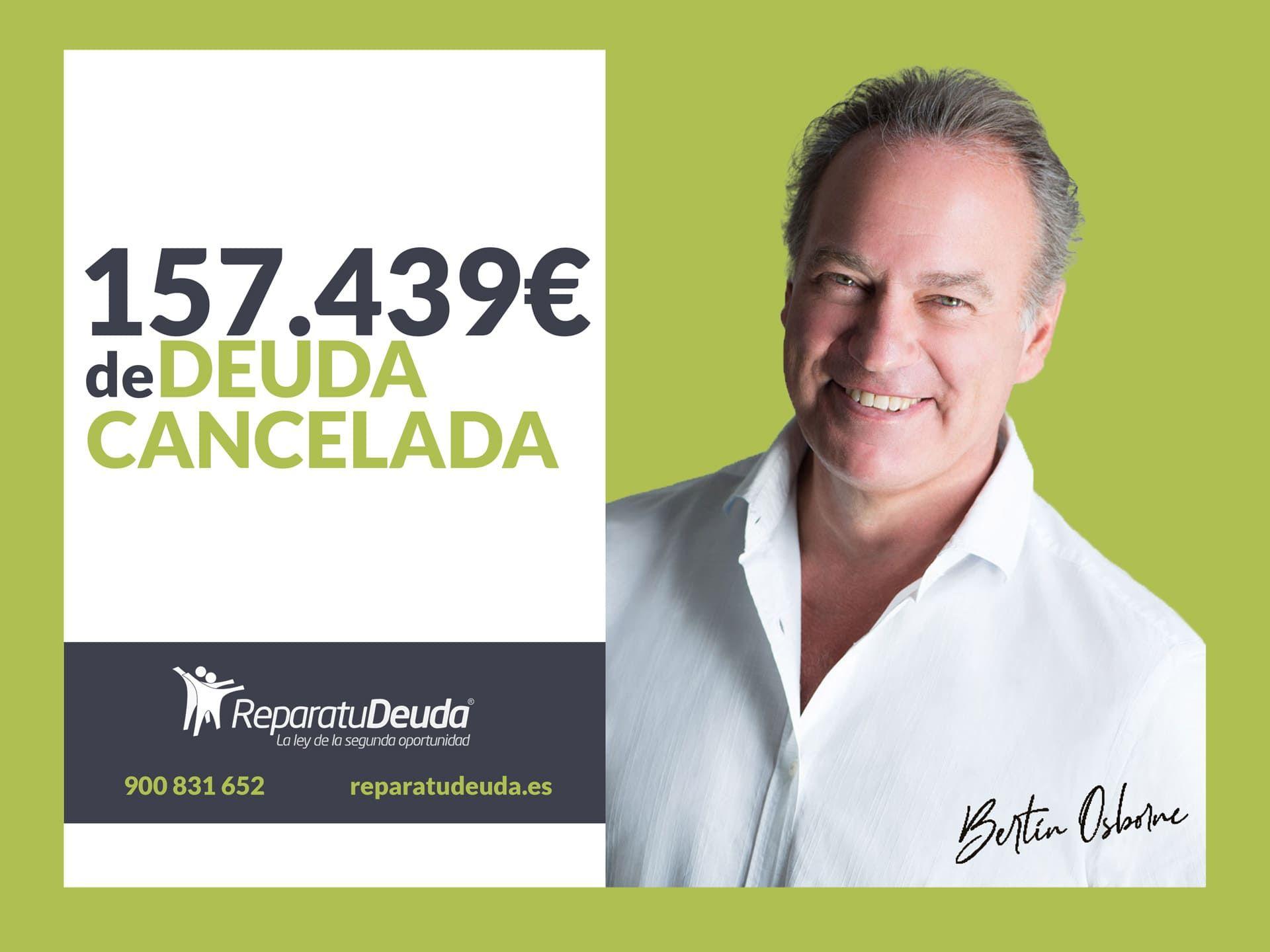 Repara tu Deuda cancela 157.439 ? en Santa Cruz de Tenerife (Canarias) con la Ley de Segunda Oportunidad