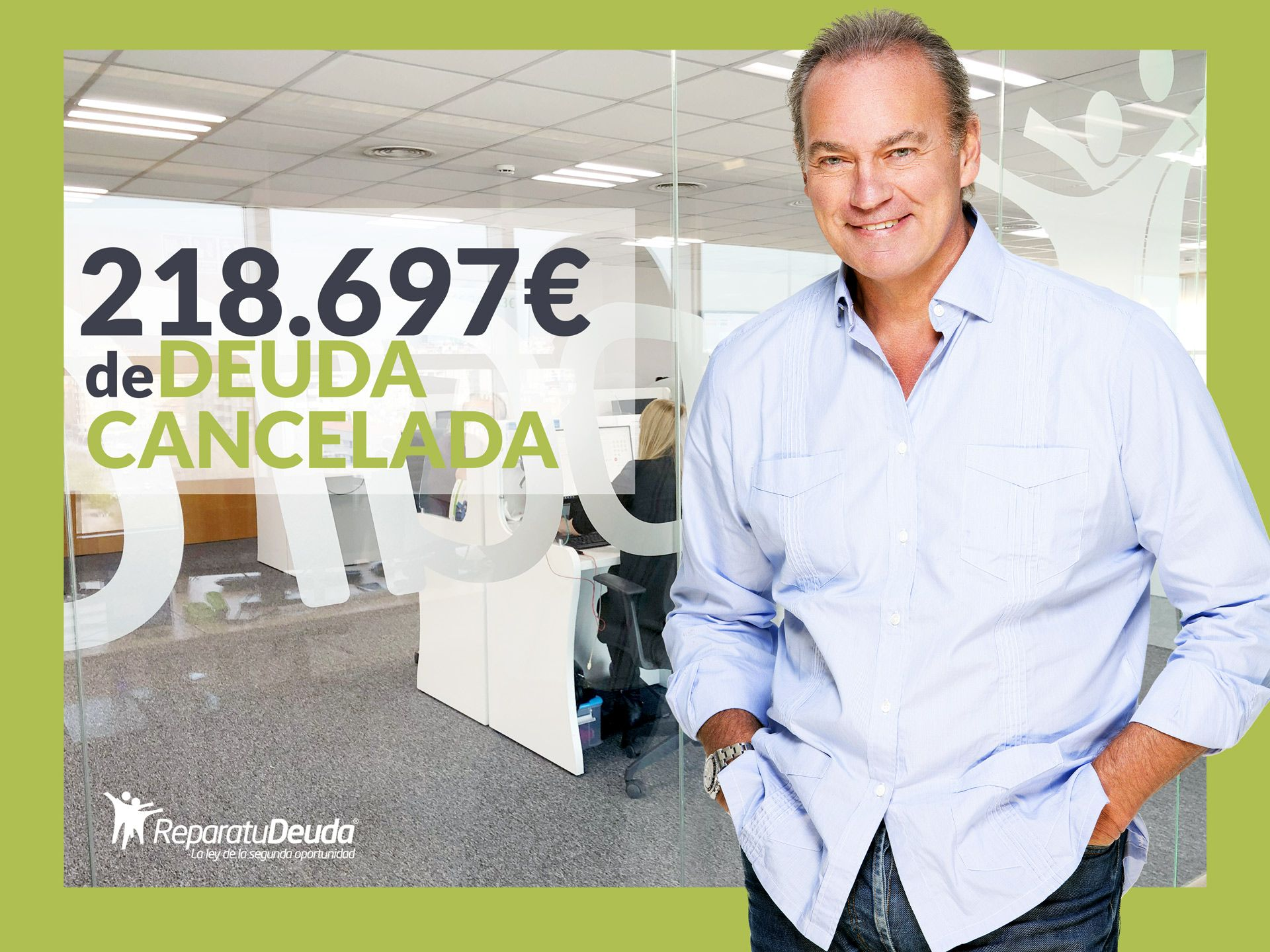 Repara tu Deuda Abogados cancela 218.697 ? en Barcelona con la Ley de Segunda Oportunidad