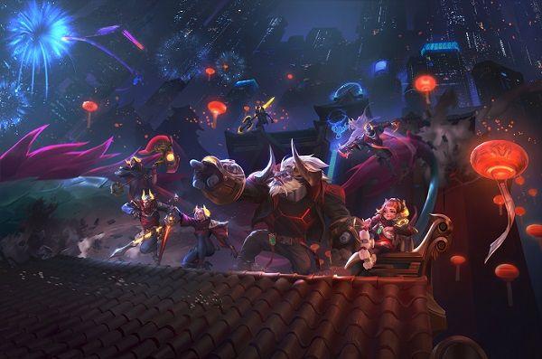 Foto de Lunar Beast, en Wild Rift y League of Legends