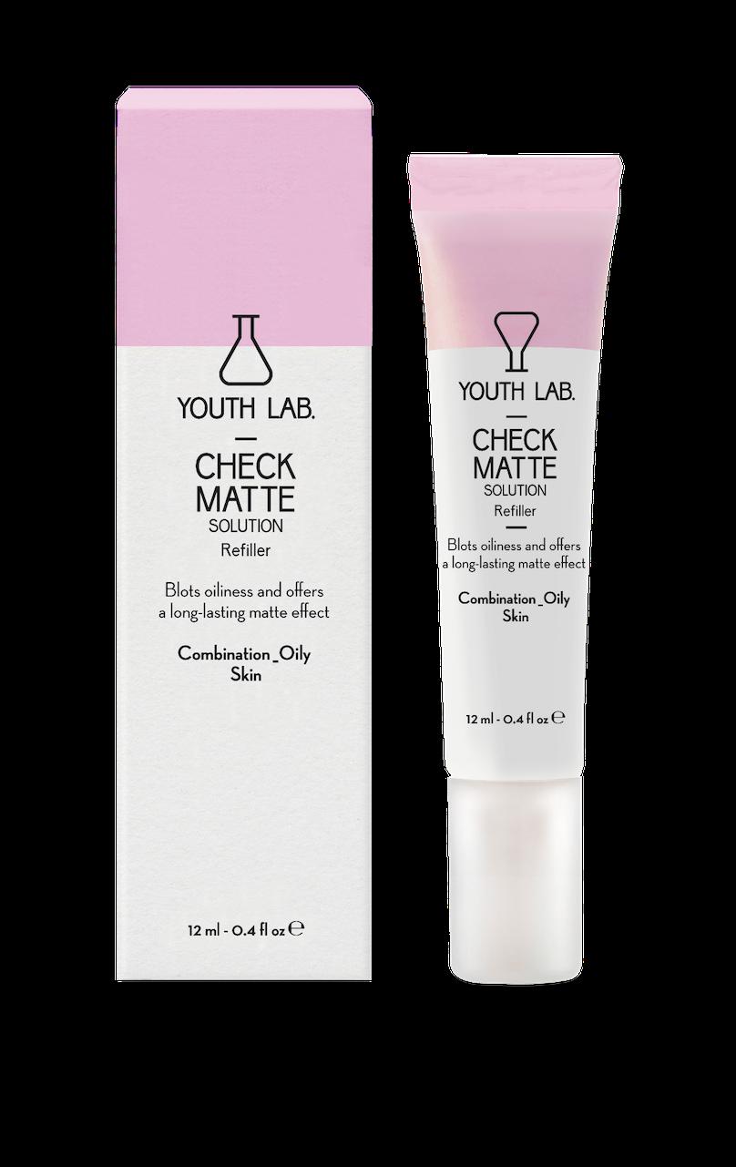 Youth Lab presenta Check Matte Solution, un innovador producto para corregir los brillos en la piel