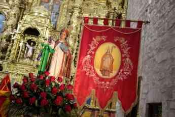 Foto de Emotiva celebración de San Blas en Albalate de Zorita