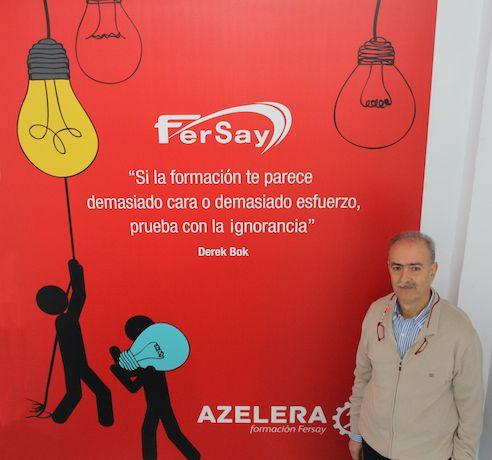 Foto de Jose Carrasco, director general de Fersay