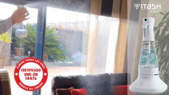 Noticias Castilla y León | Ionisis arrastra las partículas del aire