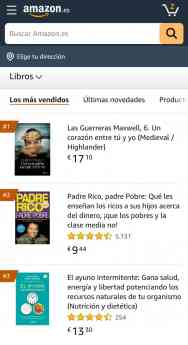 Foto de Ranking Best Sellers Amazon