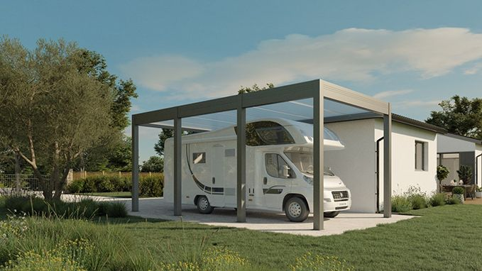 Fotografia Carport para caravanas