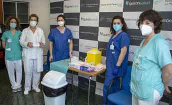 Foto de Comienza la vacunación en Policlínica Gipuzkoa