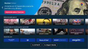 Emagister está presente en la nueva Living App de formación que ha lanzado Movistar+