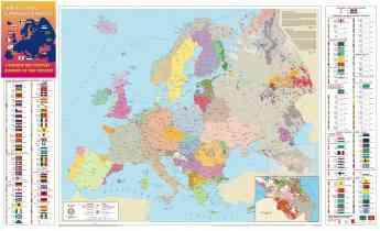 Mapa de las Lenguas en Europa