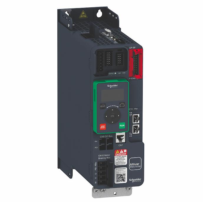 Schneider Electric lanza los innovadores variadores de velocidad Altivar Machine ATV340