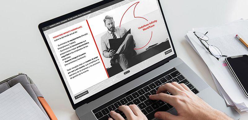 Vodafone triplica su productividad al crear cursos e-learning con isEazy