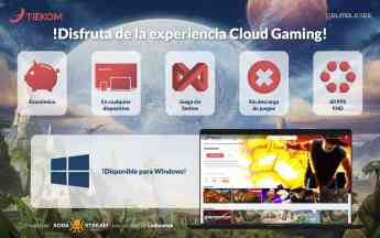 Servicio Cloud Gaming Tiekom + Ludium