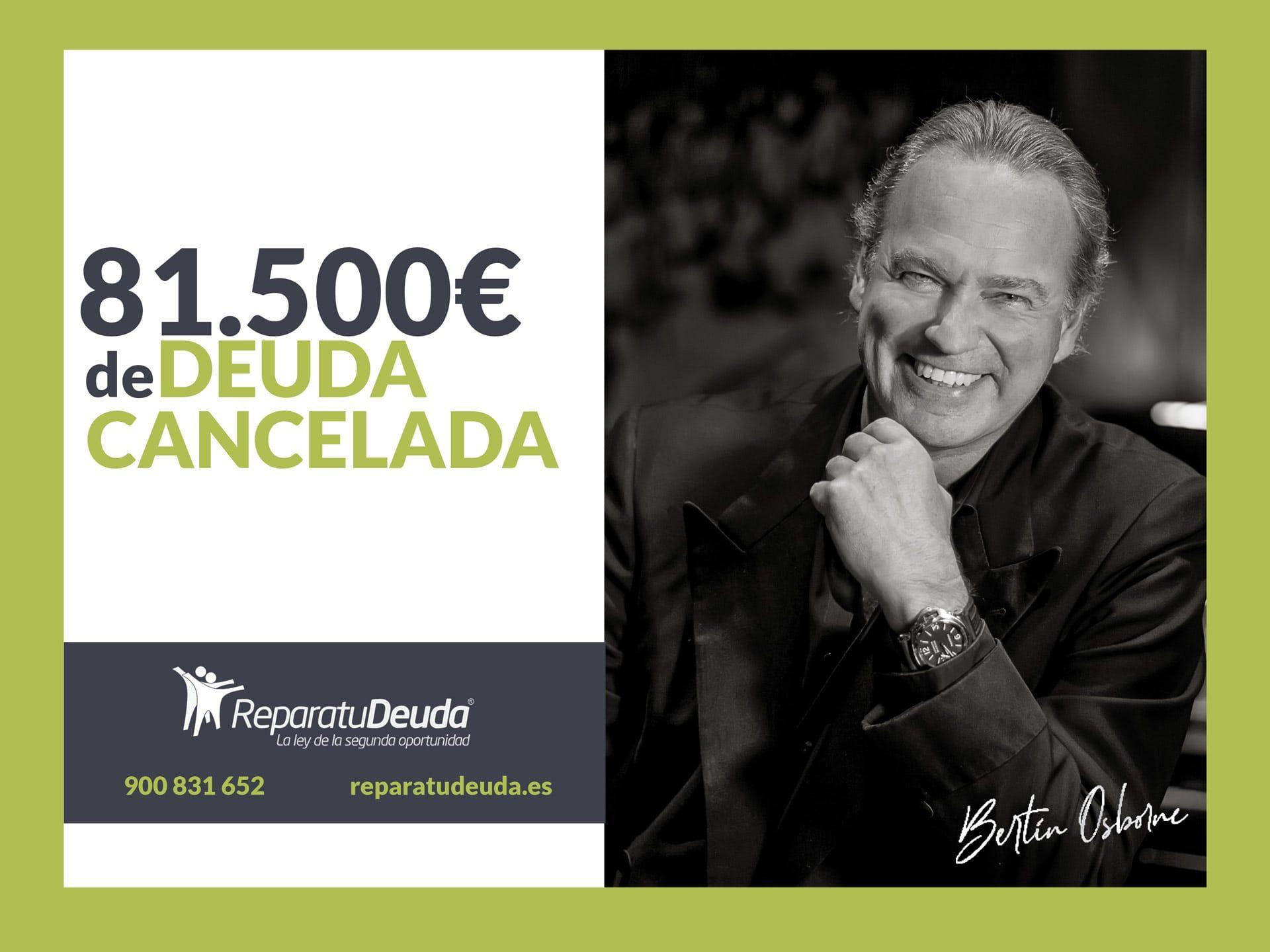 Repara tu Deuda Abogados cancela 81.500 € en Zaragoza (Aragón) con la Ley de Segunda Oportunidad