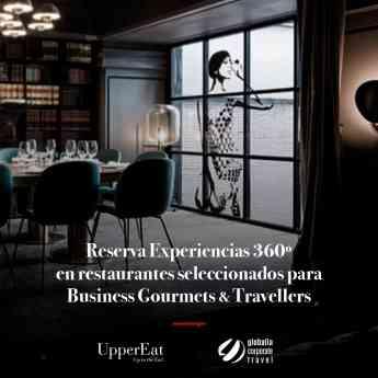 Acuerdo UpperEat_Globalia Corporate Travel
