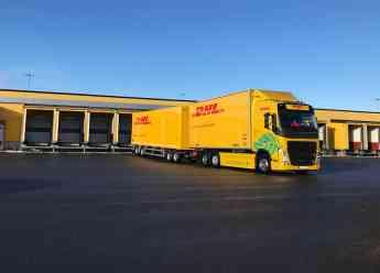 Camión eléctrico Volvo de DHL Freight