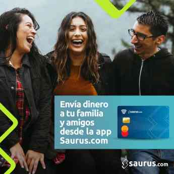 Envía dinero a tus seres cercanos desde la app