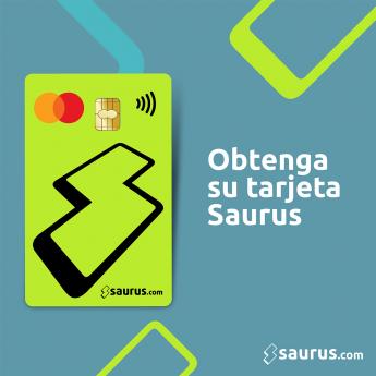 Foto de Pide tu tarjeta Mastercard Saurus.com