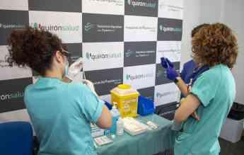 Vacunación en Policlínica Gipuzkoa
