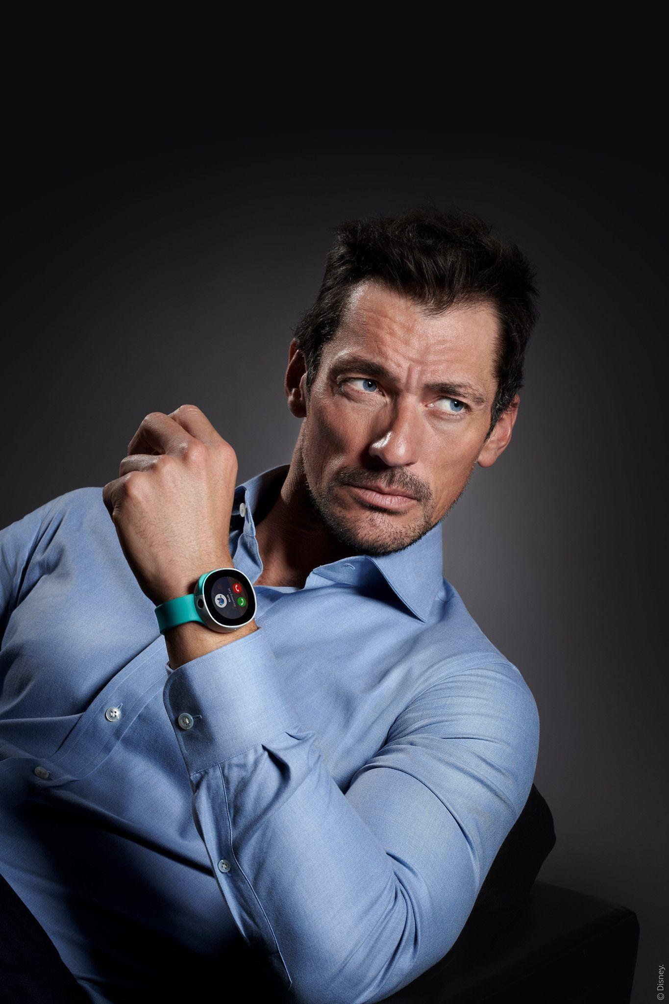 Fotografia Vodafone se alía con el famoso modelo internacional David