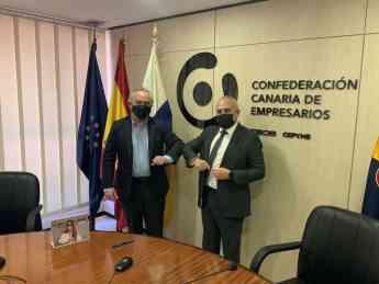 Francisco Mesonero Fernández de Córdoba, director general de sostenibilidad del Grupo Adecco, y Jose Cristobal García García, vi