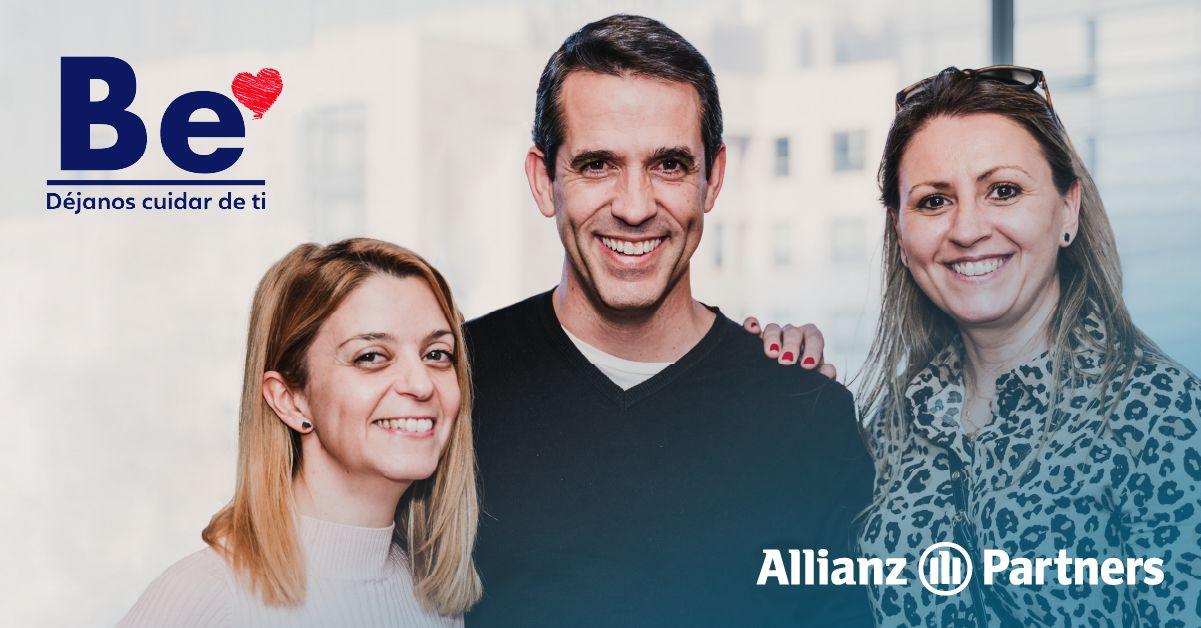 Fotografia Colaboradores de Allianz Partners