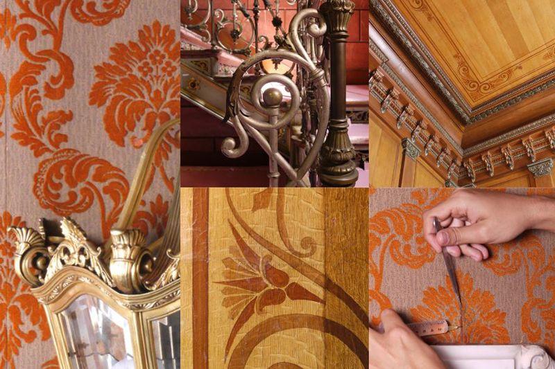 Fotografia Restauración de las escaleras del edificio histórico de