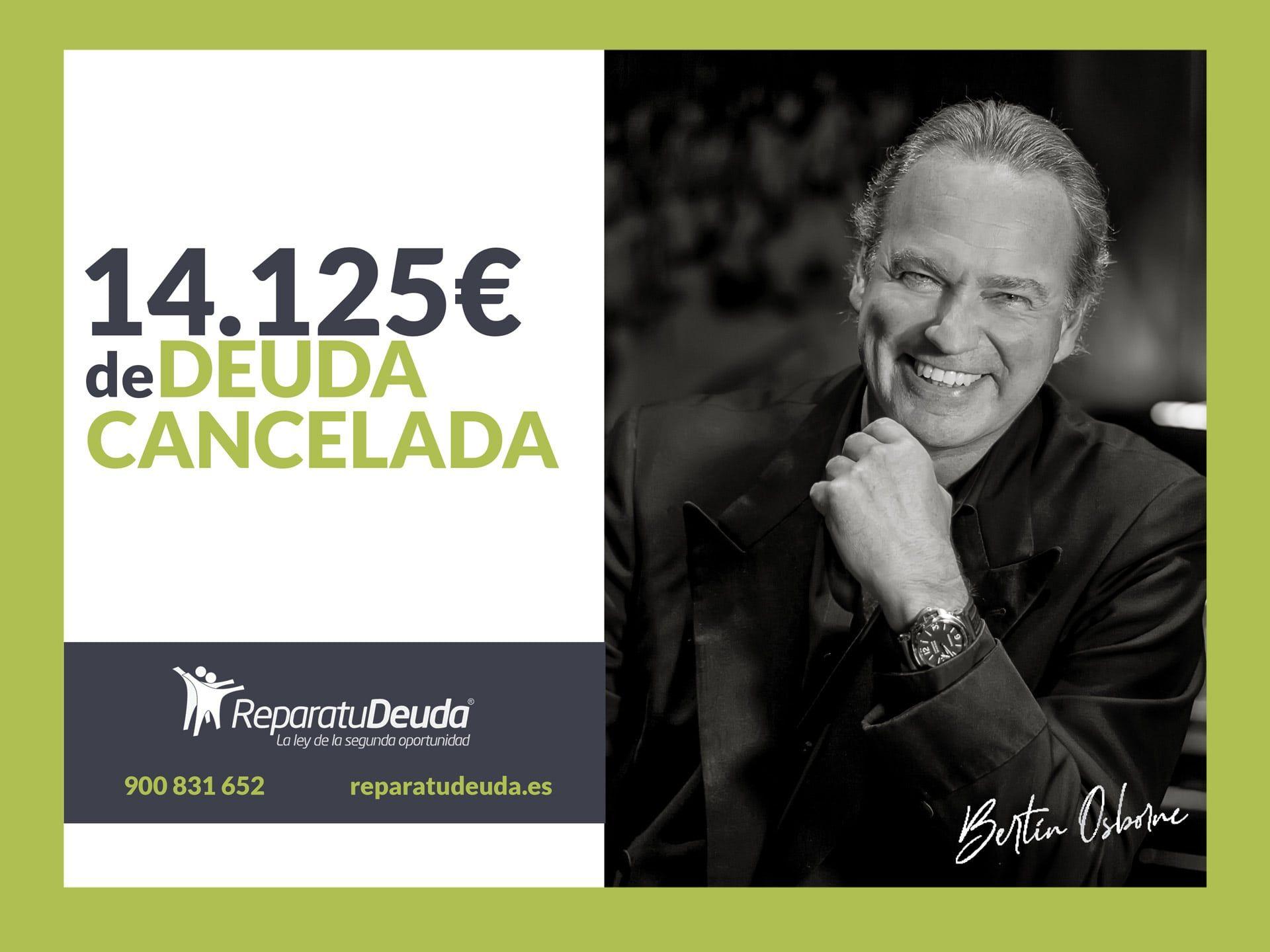 Repara tu Deuda Abogados cancela 14.125? en Tenerife (Canarias) con la Ley de Segunda Oportunidad