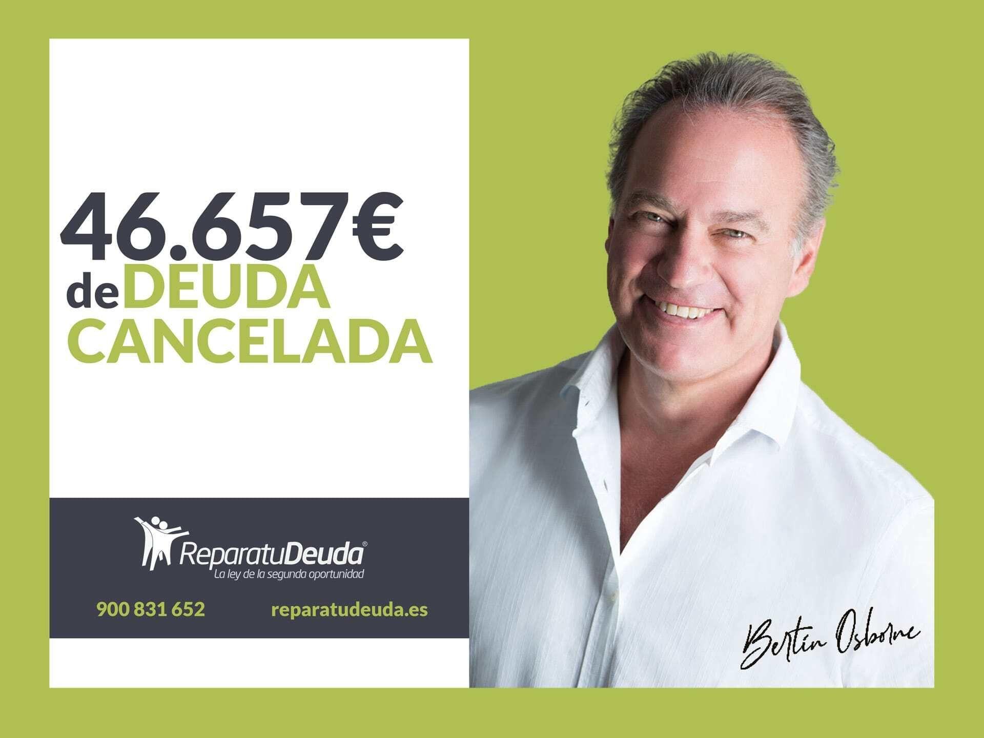 Repara tu Deuda cancela 46.657 ? de deuda en Barcelona con la Ley de la Segunda Oportunidad