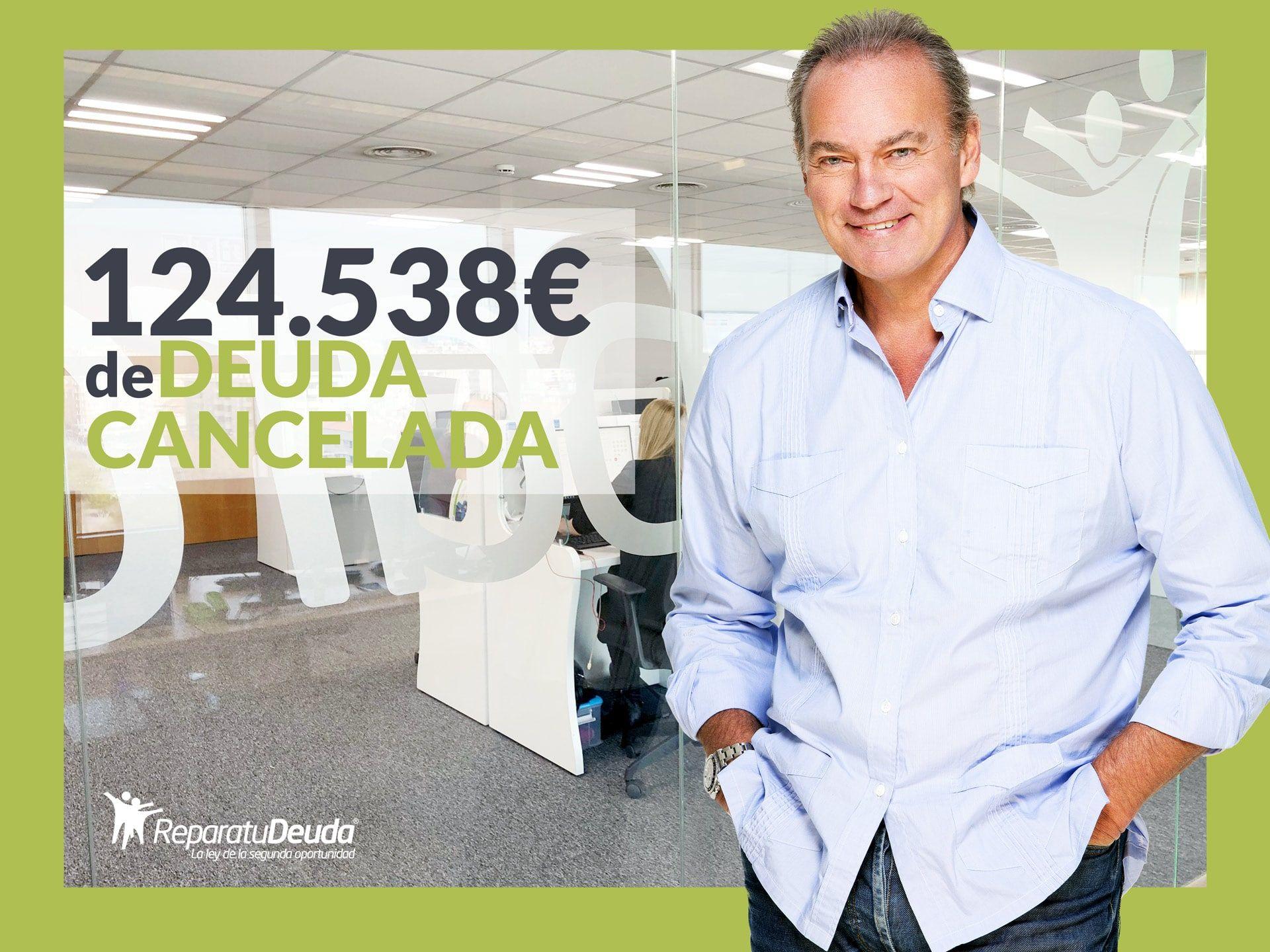 Repara tu Deuda Abogados cancela 124.538?  en Tenerife (Canarias) con la Ley de Segunda Oportunidad
