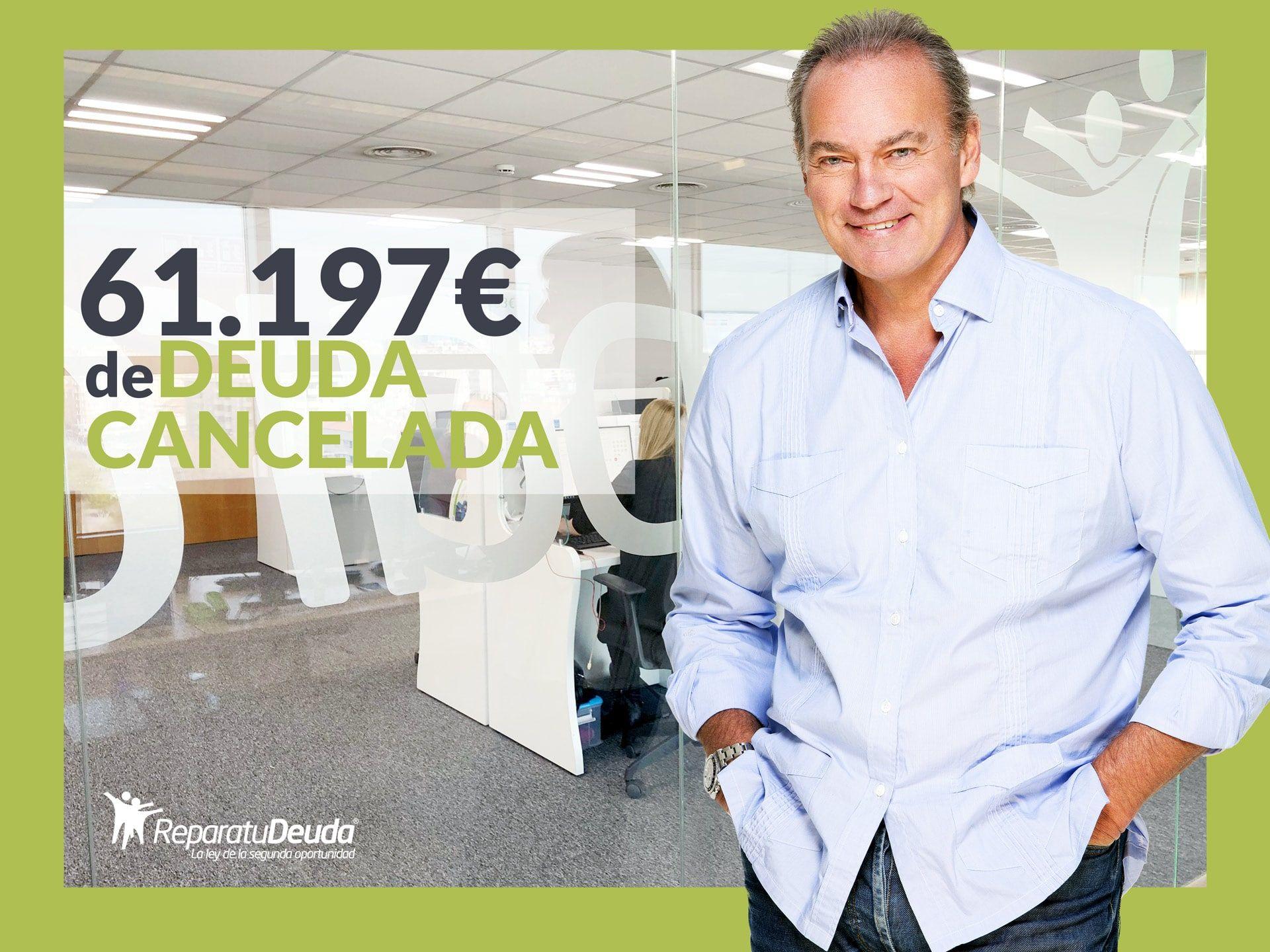 Repara tu Deuda Abogados cancela 61.197? en Barcelona con la Ley de la Segunda Oportunidad