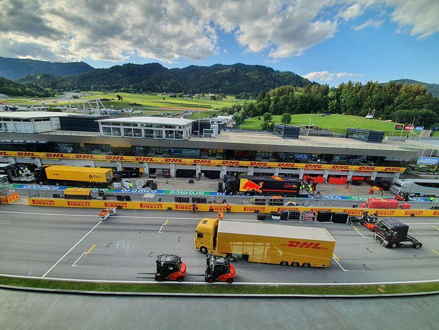 Foto de DHL renueva su acuerdo de colaboración con la F1