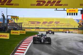 Foto de DHL de nuevo socio logístico de la F1