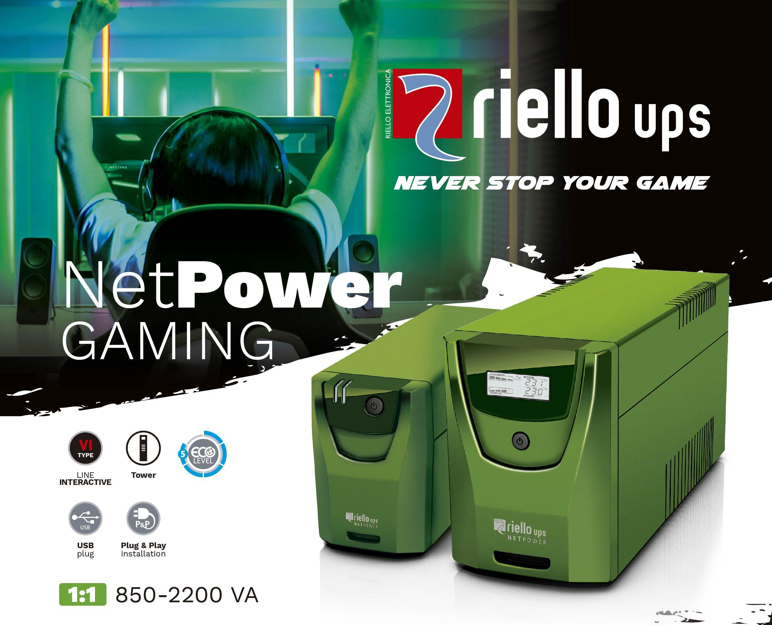 Fotografia Riello UPS Net Power Gaming