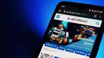 Interfaz de Uptodown para móviles