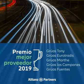 Foto de Premio Mejor Proveedor 2019 Allianz Partners