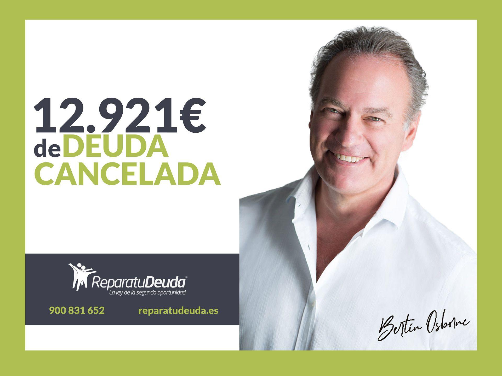 Repara tu Deuda abogados cancela 12.921 ? en Barcelona con la Ley de Segunda Oportunidad