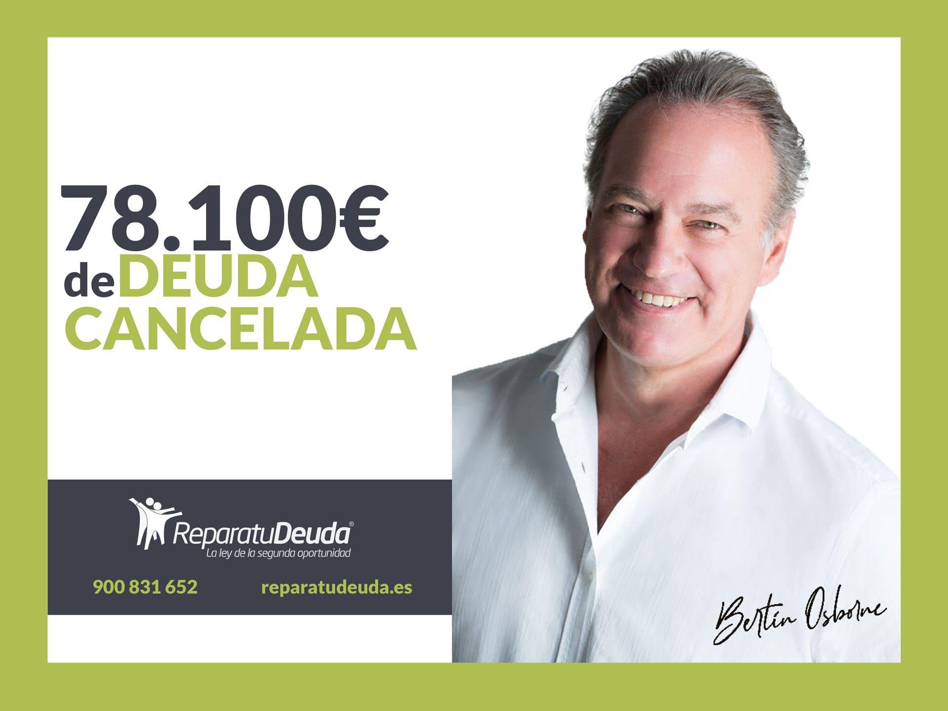 Repara tu Deuda Abogados cancela 78.100 ? en Barcelona con la Ley de Segunda Oportunidad