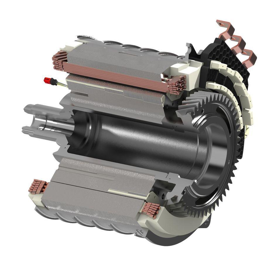 Fotografia Motor eléctrico Schaeffler