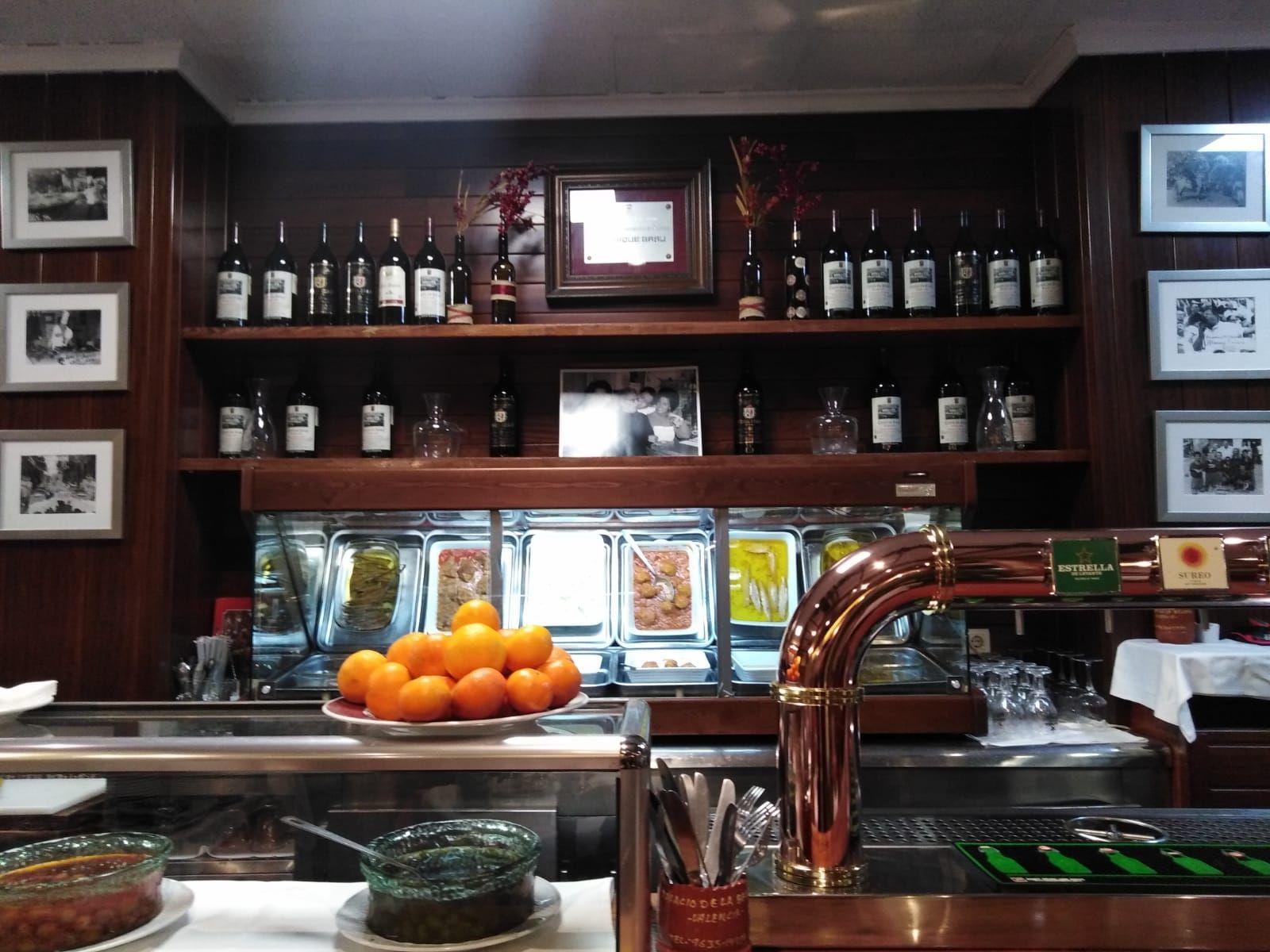 Fotografia restaurante de comida valenciana