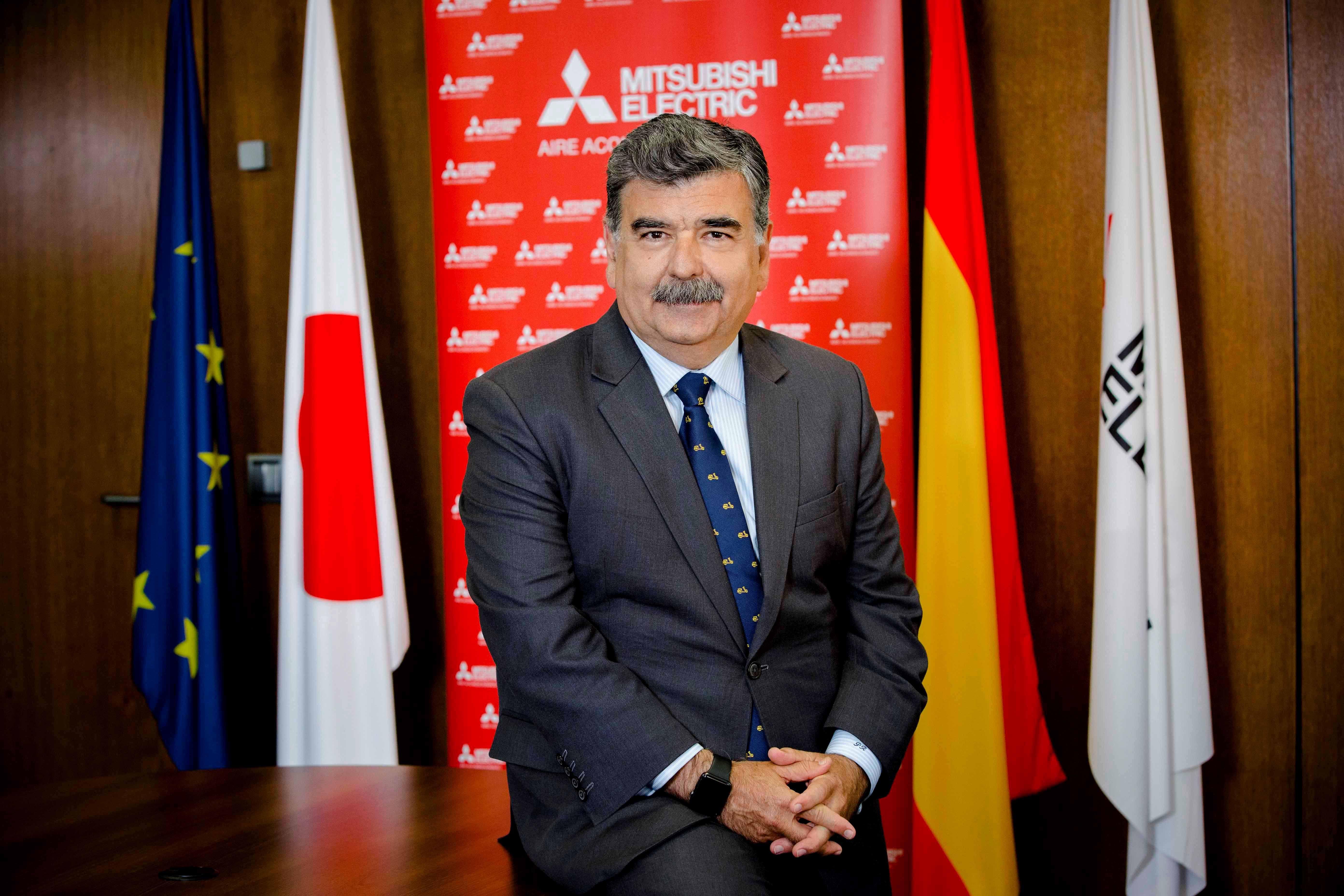Foto de Pedro Ruiz, Presidente de Mitsubishi Electric Europe, B.V.,